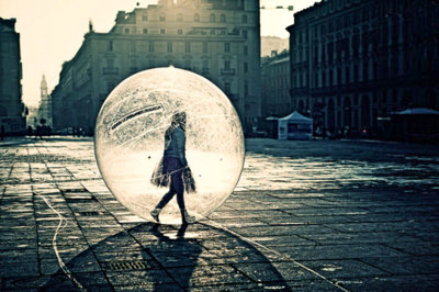 Image result for living in a bubble